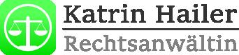 Rechtsanwältin Katrin Hailer Logo